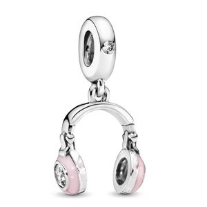 925 Sterling Silver Headphone Charm